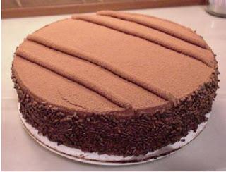◄كيكة الشوكولاطة سهلة ولذيذة