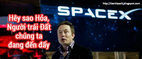 """Elon Musk gây sốc với kế hoạch """"xâm chiếm"""" Sao Hỏa trong năm nay"""