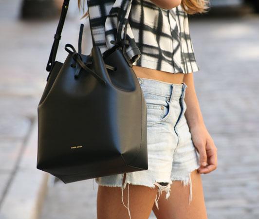bucket bag bolsa estilo saco