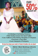 ENJOY 50% DISCOUNT OFF YOUR WEDDING COVERAGE