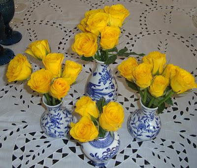 7 Rosas amarelas!!!