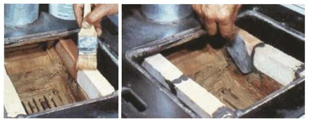 Правильно восстанавливаем печь с помощью шамотного кирпича