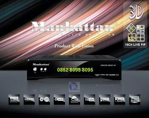 Manhattan Smart3D,Receiver PowerVu,Receiver HD