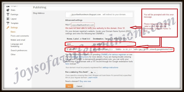 Tutorial: How to Point Your Blogger Domain To Namecheap