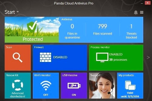 Panda Cloud Antivirus Pro 3.0 Serial Key