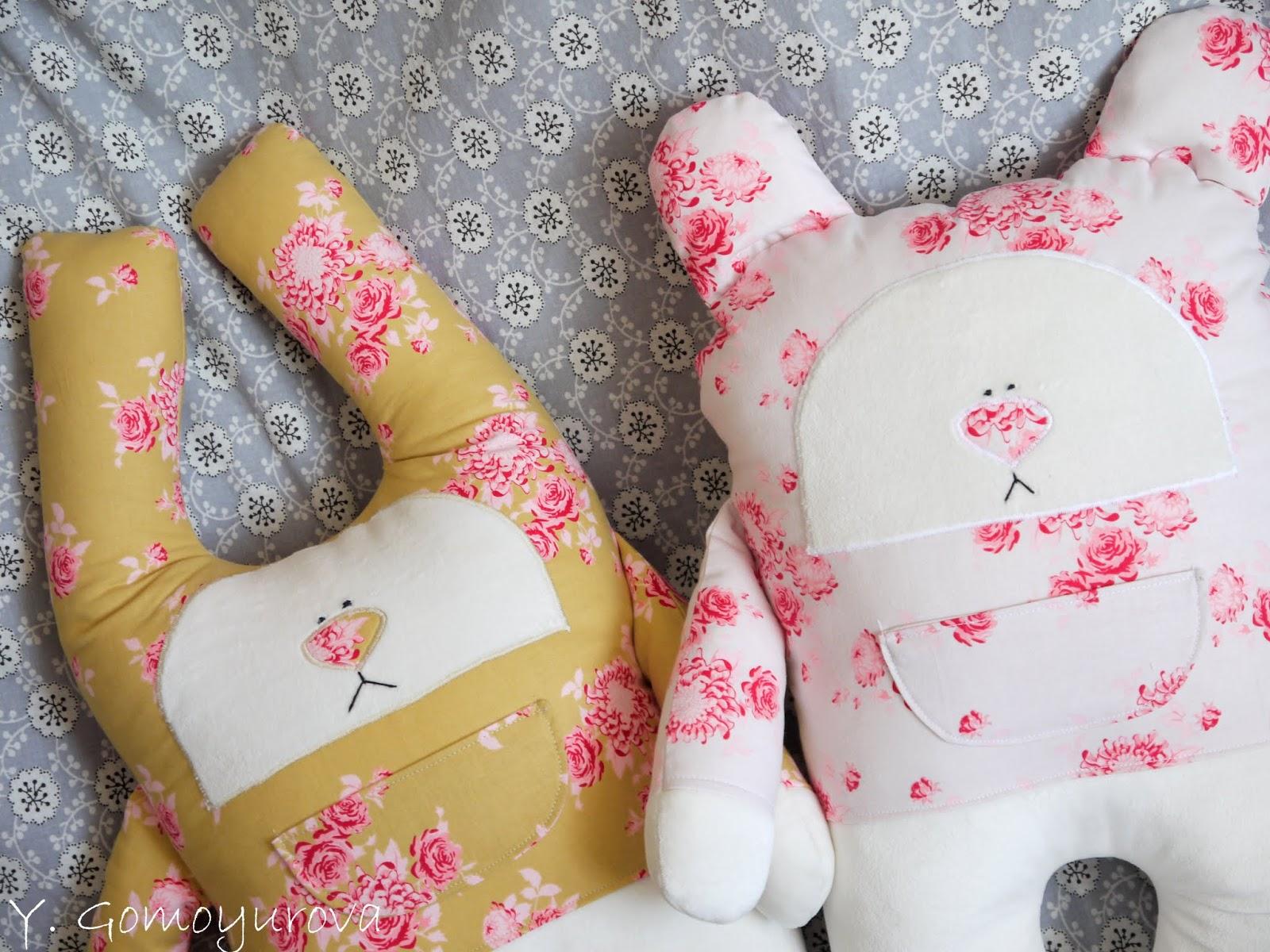 Как сшить подушечки для кукол 28