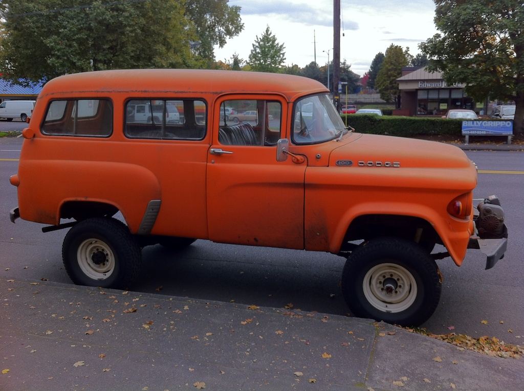 1959 Dodge W100 4x4 Power Wagon 12 Ton Pickup For Sale ...