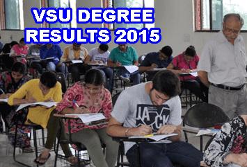 VSU Degree Results 2015 Today, Vikrama Simhapuri University Degree 1st 3rd year Results 2015, VSU Degree BSc BCom 3rd year Results 2015, VSU Degree Result 2015 BCom, BSc, BBA, BA, Manabadi VSU Degree Result 2015, VSU BSc, BBA, BCom BA 1st Year Results 2015