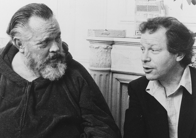 Orson Welles and Henry Jaglom
