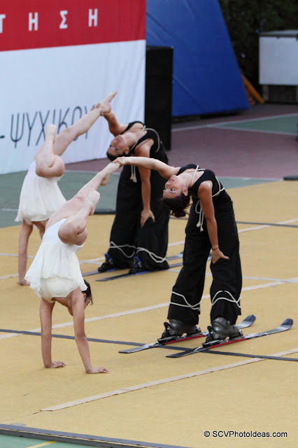 Rhythmic Gymnastics III - floor program skis