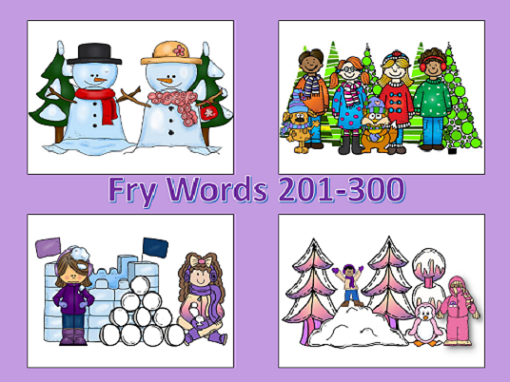 http://www.teacherspayteachers.com/Product/Winter-Spot-and-Jot-Fry-Words-201-300-1056249