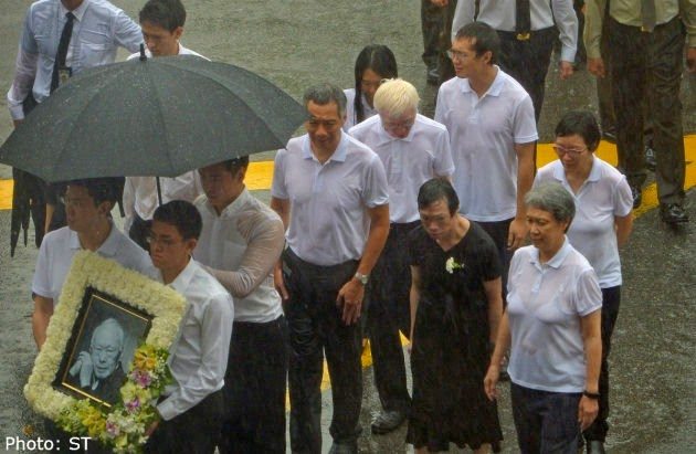 State Funeral For Lee Kuan Yew Lee Kuan Yew Family Bids