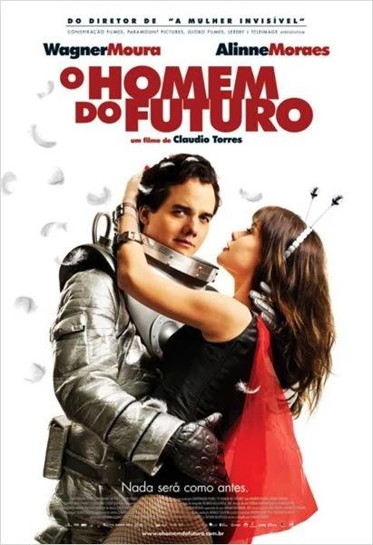 Filme, O homem do futuro, cinema nacional, Wagner Moura, Alinne Moraes, ver online
