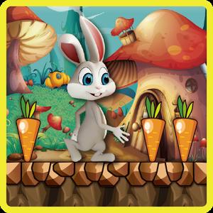 تطبيق لعبة الأرنب Bunny Run علي الأندرويد مجانًا