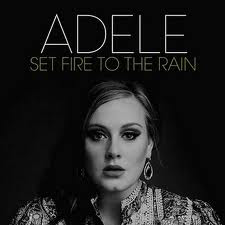 Adele Set Fire To The Rain Image Cover