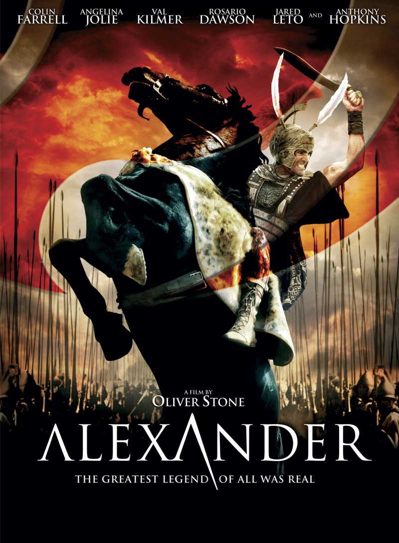 alexander 2004 movie poster and dvd cover art