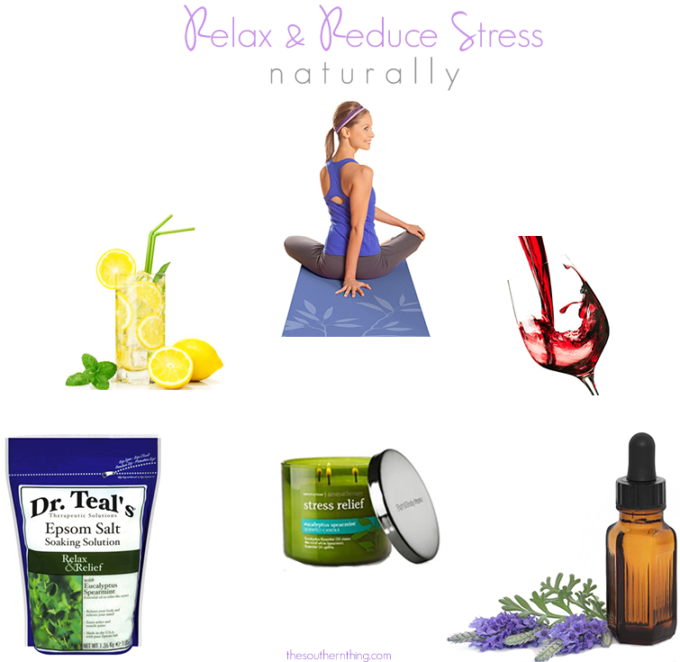 how to relax and reduce stress naturally