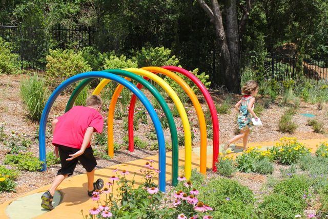 Project denneler where giggles grow for Children s garden pools