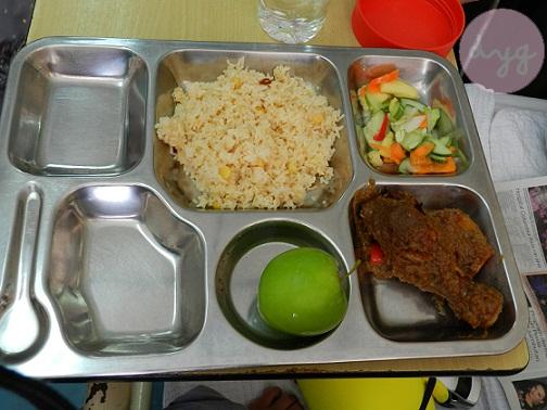 1 Syawal Di Hospital : Nasi Jagung
