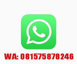 PEMESANAN, HUBUNGI SEGERA: SMS/WA