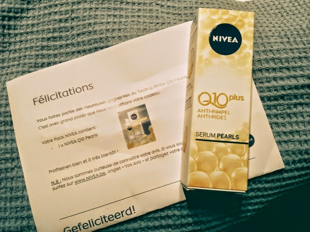Test Nivea Q10 Plus sérum pearls anti-rides