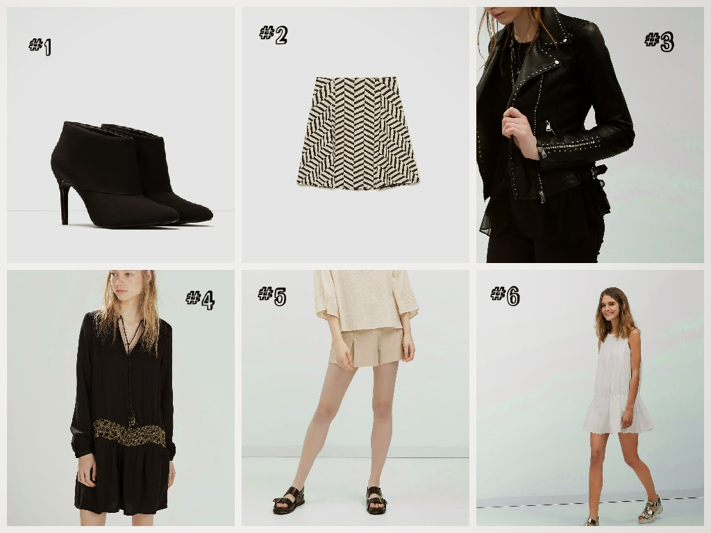 zara wishlist printemps 2015