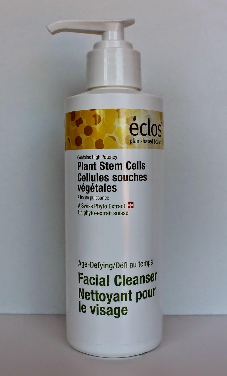 Nettoyant pour le visage cellules souches Éclos