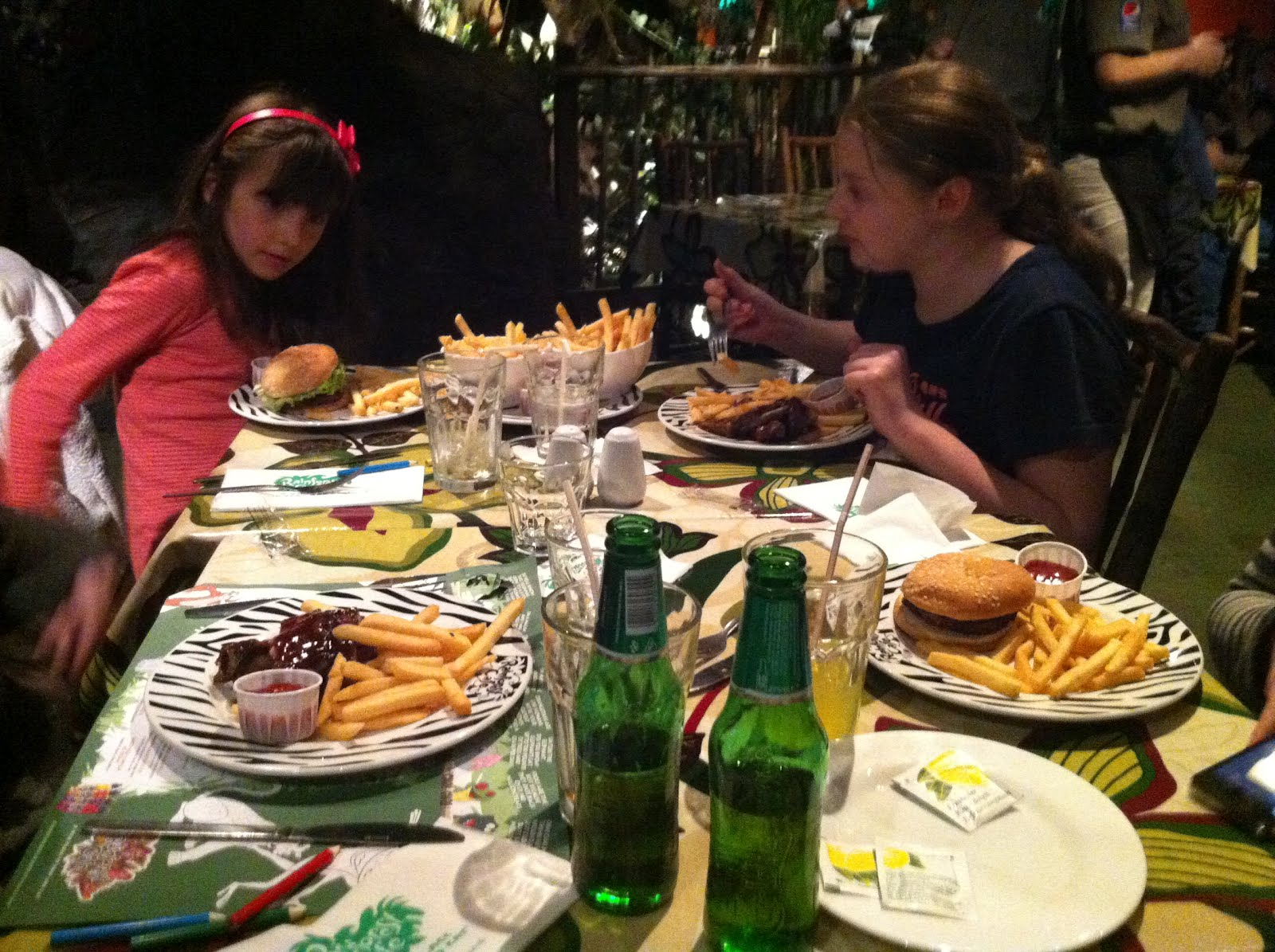 The Rainforest Café, Piccadilly - Quick Easy And Healthy