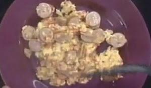 Receta Fideos con espinacas y jamon