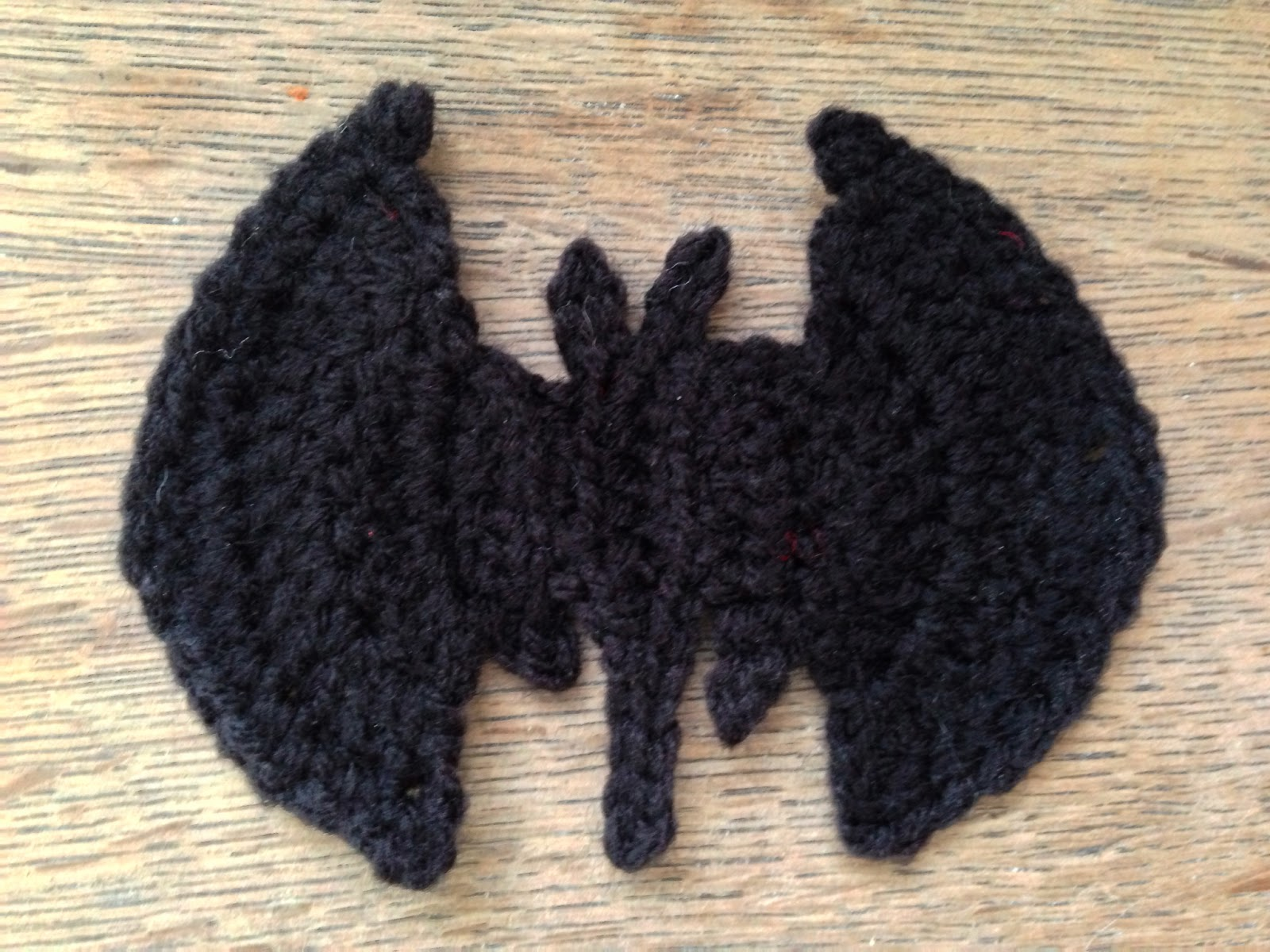 Free Crochet Patterns In Symbols : Crochet Bat Symbol Steel&Stitch