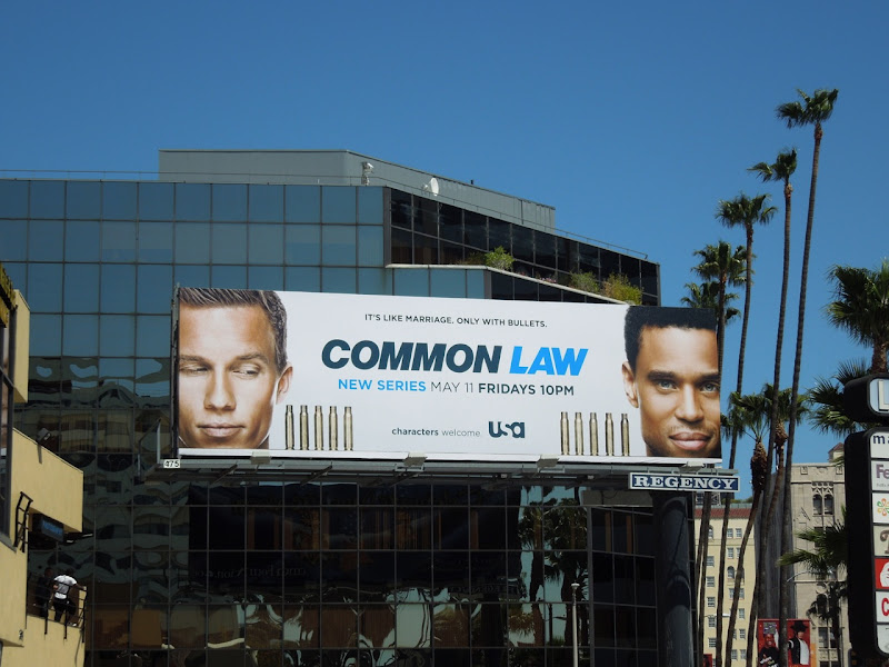Common Law billboard