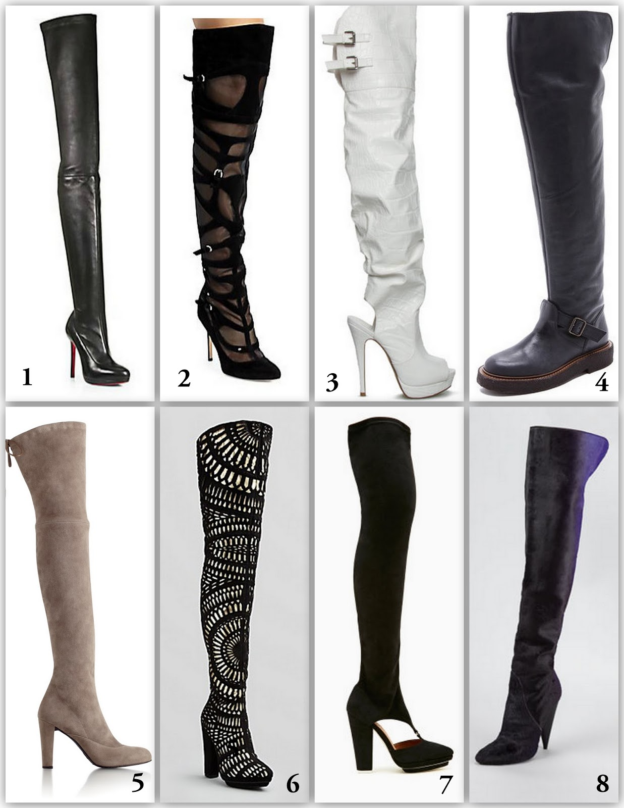 Fashion of Philly: 8 Over the Knee Boots to Crave for Fall