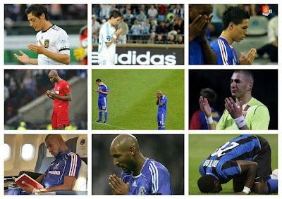 Foto pemain bola islami unik dan lucu