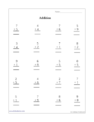 Free Printable Kindergarten Worksheets, Free Worksheets, Kids Maths Worksheets, Maths Worksheets, Kindergarten Addition, Addition, Kindergarten, Kids Addition Sheets