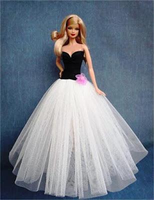 Gaun Pengantin Barbie Tampak Elegan