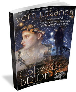 Book Cover: Cobweb Bride by Vera Nazarian