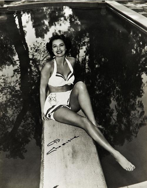 Vintage everyday beautiful vintage photos of actresses in bikini