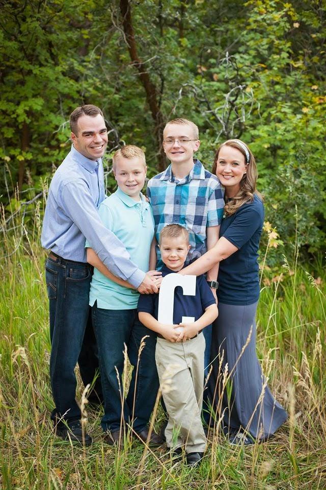 April and Dallan's Family