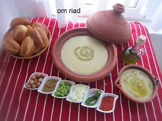 طريقة تحضير البيصارة المغربية بالصور