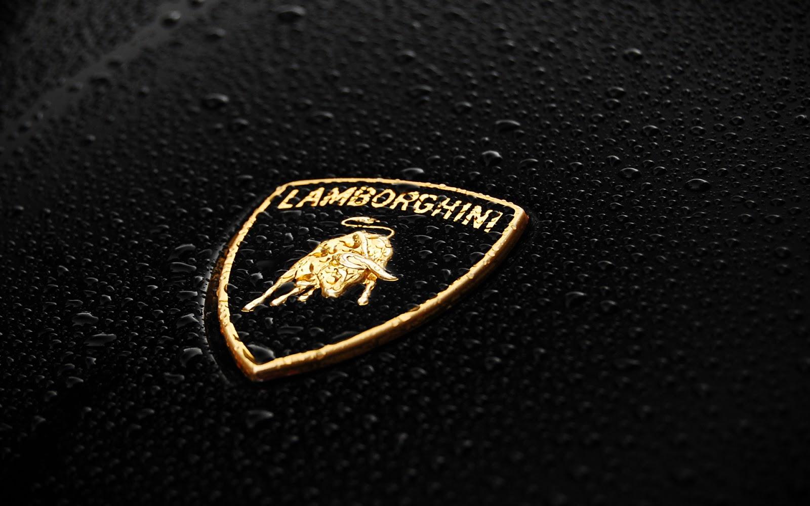 Lamborghini Logo Wide HD