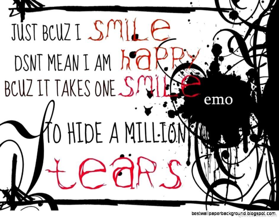 Sad Emo Love Quotes Wallpaper Hd