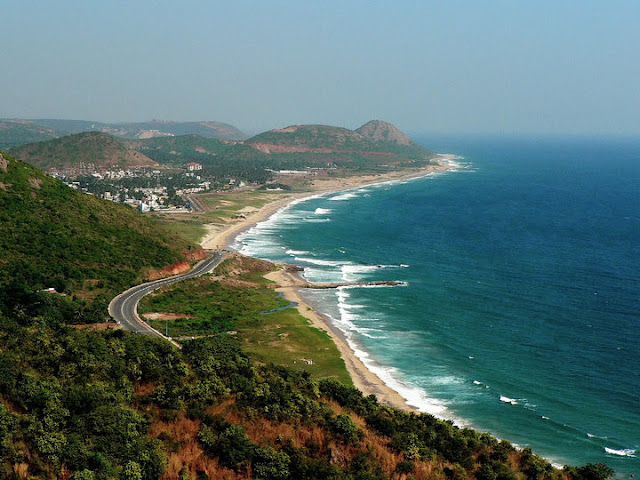 The port city of Vishakhapatnam (Vizag for short), Andhra Pradesh