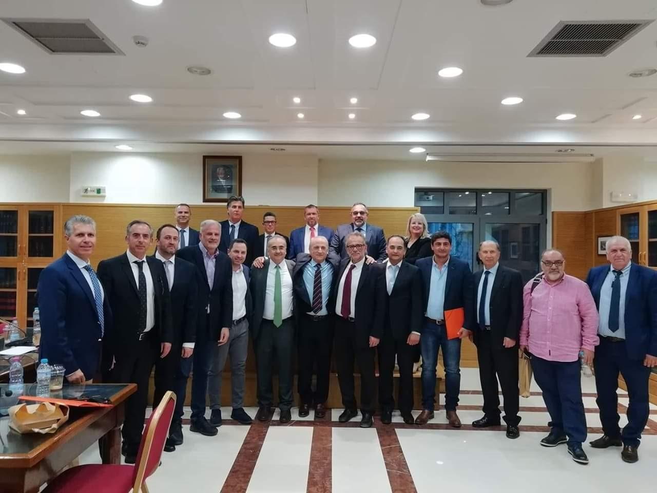 Συνεδρίαση Διευρυμένης Συντονιστικής Επιτροπής Ολομέλειας Προέδρων Δικ. Συλλόγων