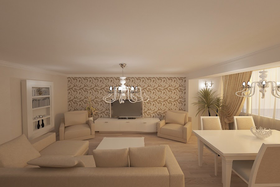 Amenajari interioare constanta amenajare interioara apartament modern constanta - Design interior apartamente ...