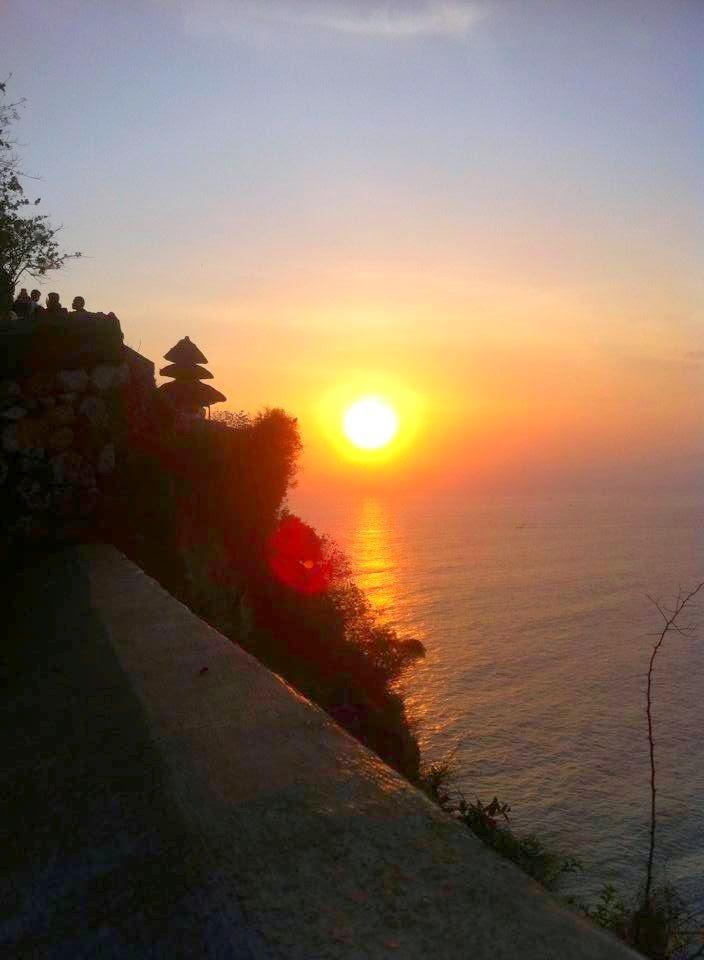 Sunrise in Uluwatu, Bali Indonesia
