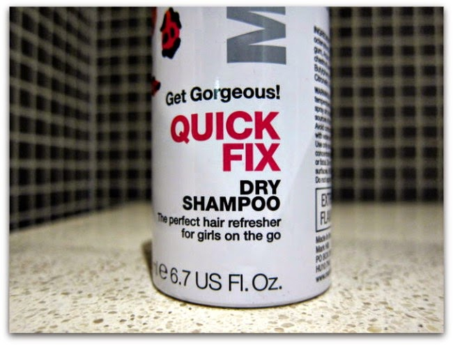Mark Hill Get Gorgeous! Quick Fix Dry Shampoo