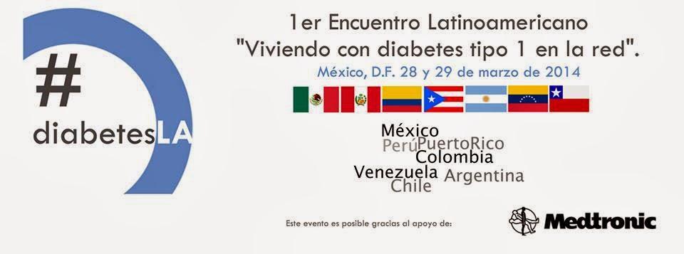 En Inglés para aquellos interesados....First Latinamerican Reunion. Living with type 1 diabetes and social media