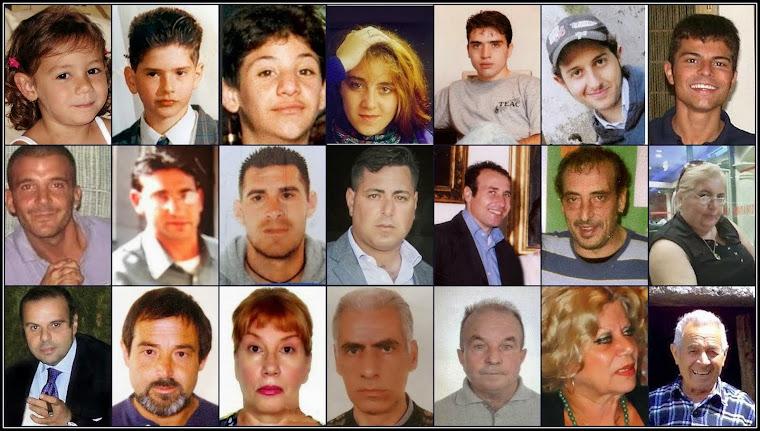 Progetto Verità: Famiglie Scomparsi Siciliani