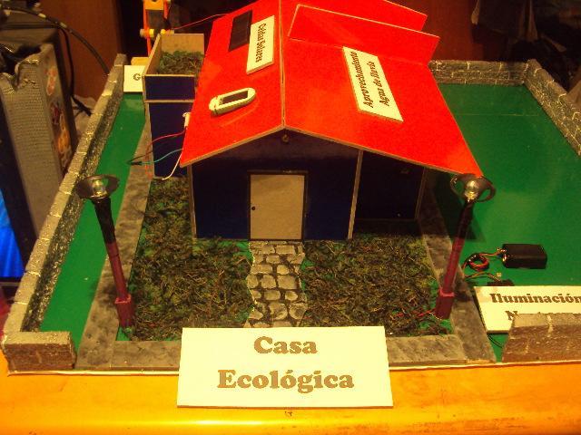 Maquetas escolares proyectos de ciencia electr nicos for Proyectos de casas ecologicas