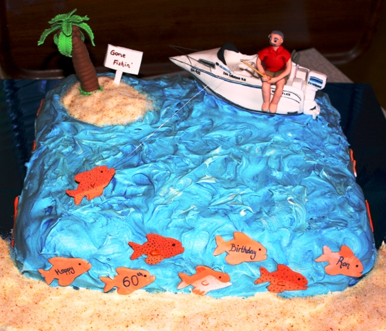 Birthday Cake For Ronald : Kerrie s Kreations: A high sea fishing adventure - Happy ...